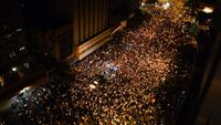 Venezuela-crisis-opposition-protest-night