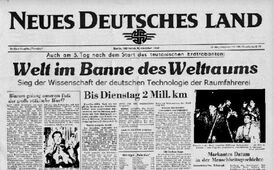 ZeitungRaumfahrt1957