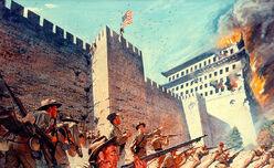 Американские войска в Пекине