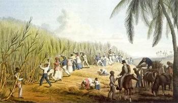 Рабы на плантации