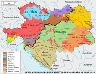 Austria Hungary ethnic de