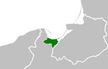 Location Free City of Danzig 1923