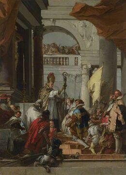 Свадьба Барбароссы и Беатрисы Бургундской