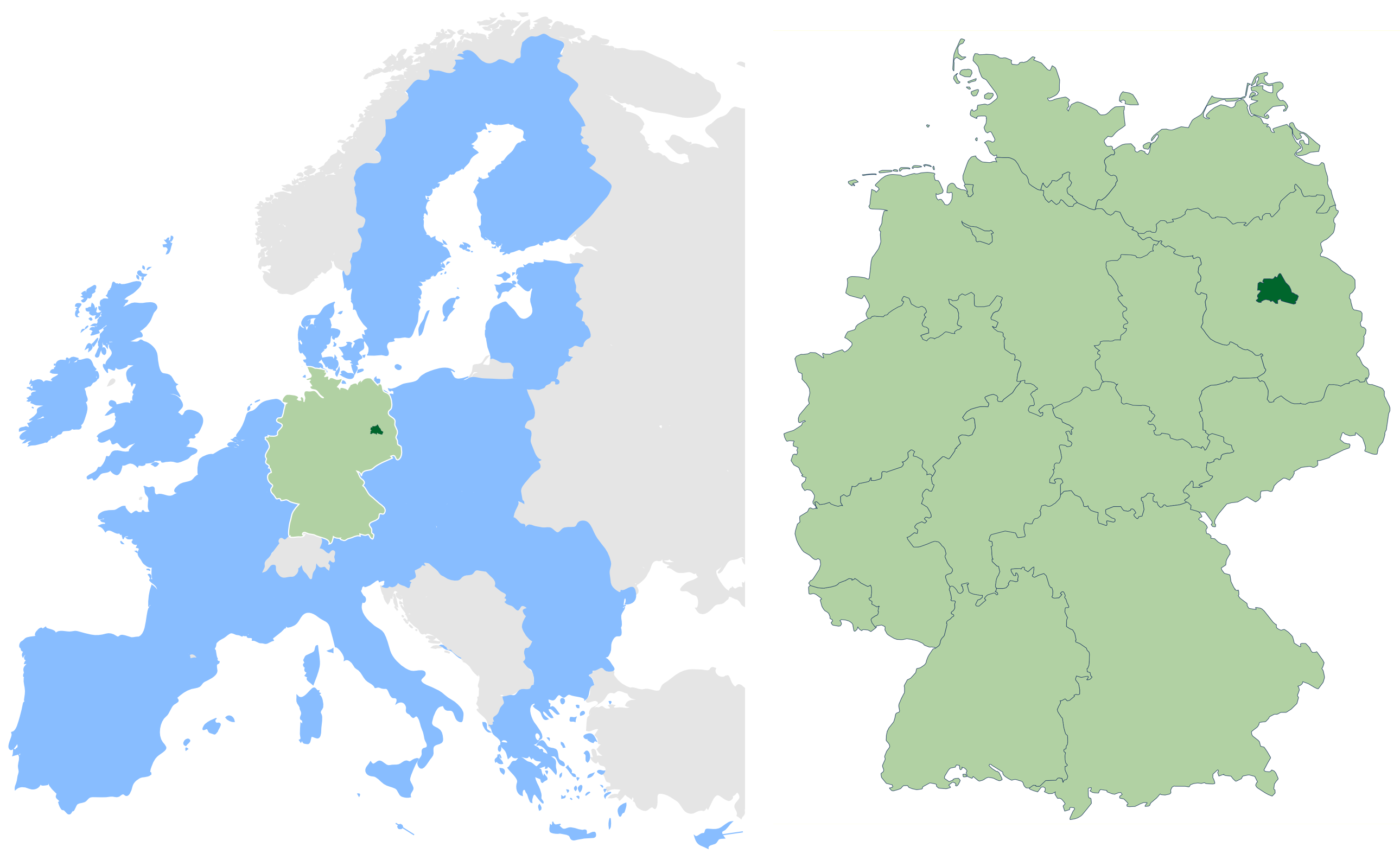 berlin in germany and eu