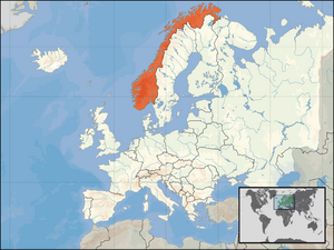 Location of Norway President McCain