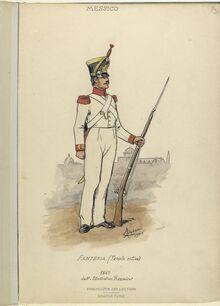 Форма Мексиканского солдата