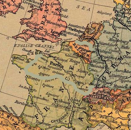 Franco-German war 1914