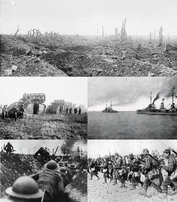 Great War Montage (No Belgium)