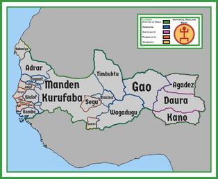 Mali divisions