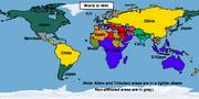 Map World 1850 (Easternized World)