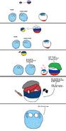 Russia and Crimea (Polandball)