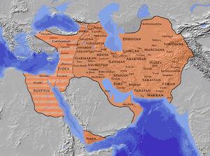 Sassanian Empire 621 A.D