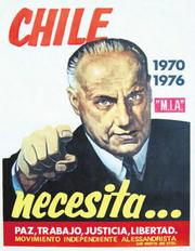 Afiche Alessandri 1970