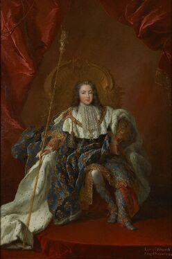 Lodewijk XV-Kroningsgewaad