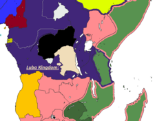 PMIV Luba Kingdom 1905
