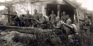 Немцы готовятся к обороне
