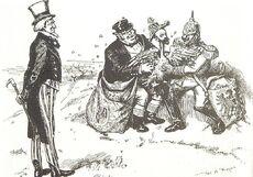 Caricature of Cipriano Castro