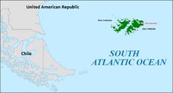 Falklands Islands Location (DD)
