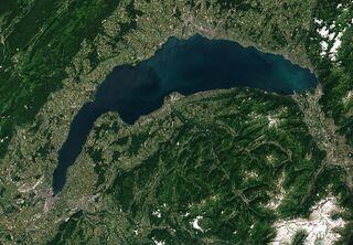 Genfer See Satellit