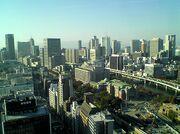 Skyline in Osaka