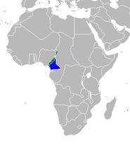 Camerún mapa