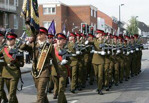 Essex troops