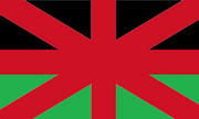 Flag of the United Kingdom of England, Wales, Brittanny and Northern Ireland