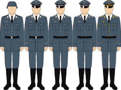 Luftwaffe hermann goering division uniforms2