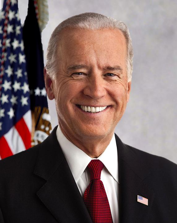 Official portrait of President Biden