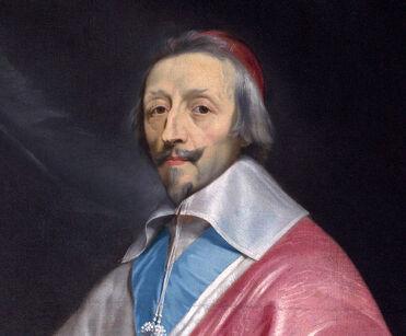 Richelieu, por Philippe de Champaigne (detalle)