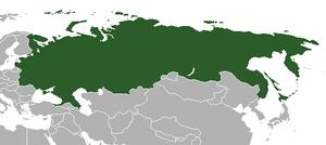 Карта РДФР (МРГ)