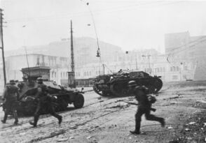 German forces during the Berlin Uprisisng