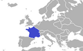 Location of France (King of America).png