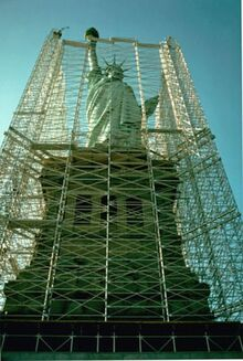 Statue of Liberty restoration project