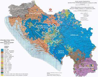Этнический состав Югославии