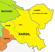 Kargil mapa