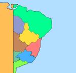 Mapa da América Portuguesa