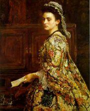 Millais - Vanessa, 1868