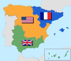 Ocupación de España