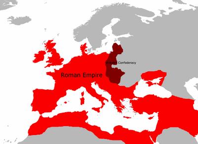 Rome circa 612