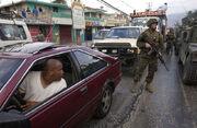 SAC soldiers in Haiti
