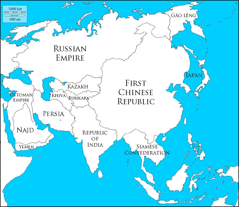 asia blank map vinw 2 names 1925jpg