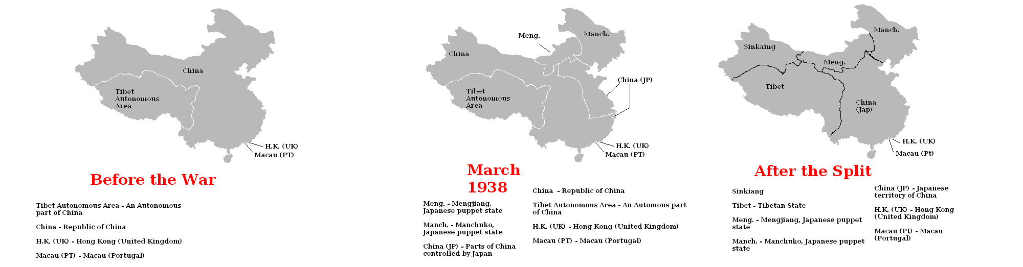 Chinasplit