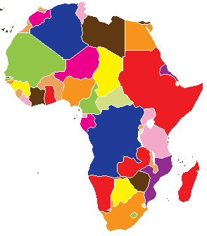 Current Africa Map (Pax Columbia)