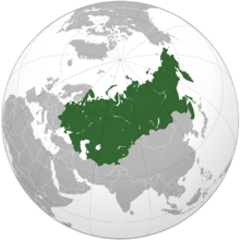 Union of Soviet Socialist Republics (orthographic projection)