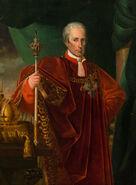 Франц I обрезанный по колени