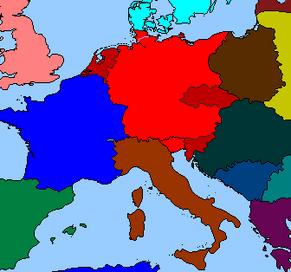 ЦентрЕвропа на 1940