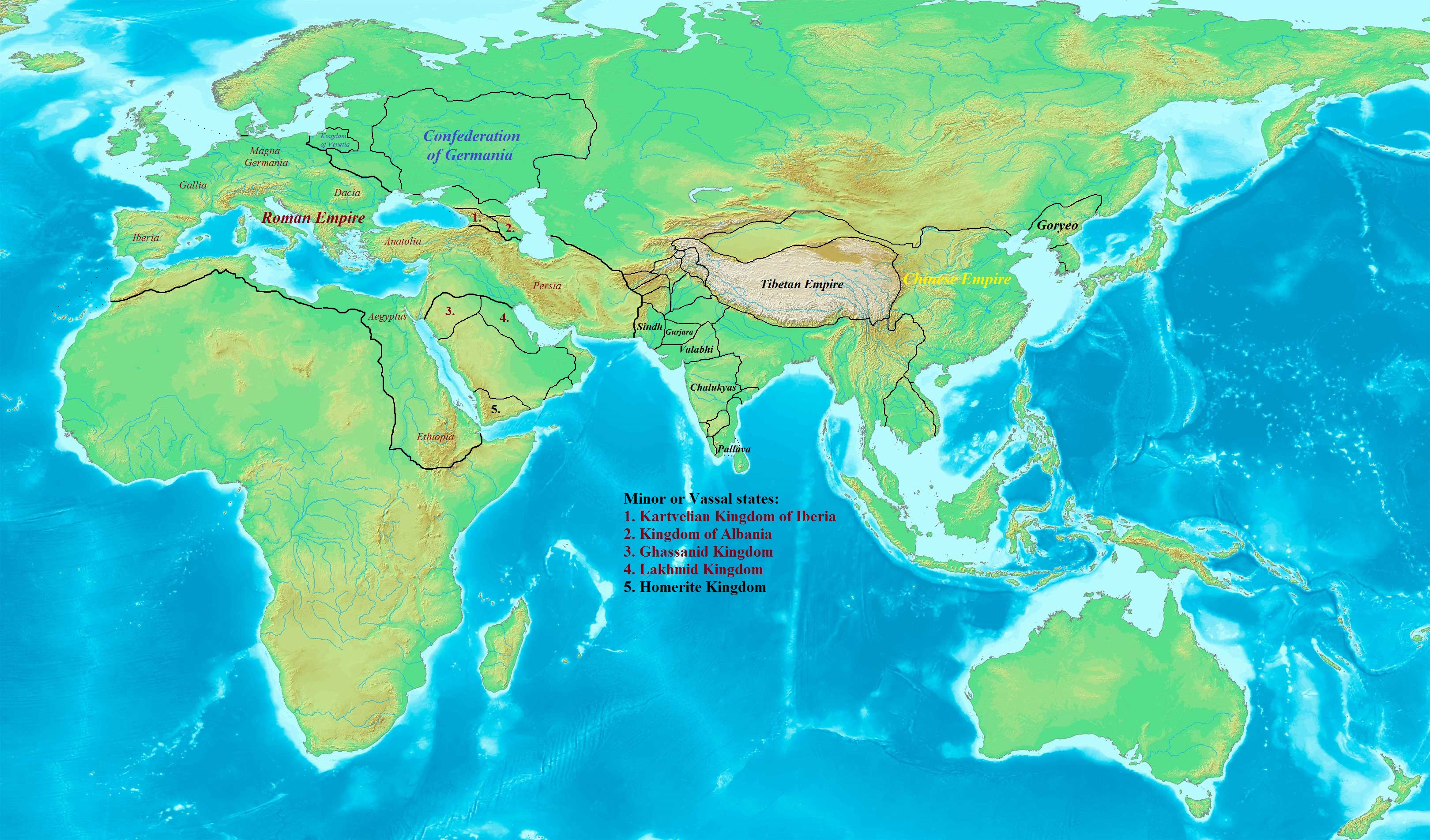 Timeline superpowers alternative history fandom powered by wikia countries 621 ad world map gumiabroncs Choice Image