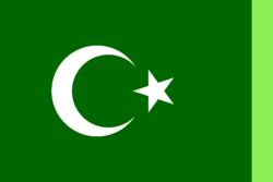 Flag of the Arab and Middel Eastern Alliance (AVARO).
