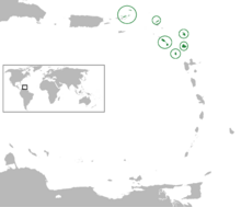 Location Leeward Islands Colony (CtG)